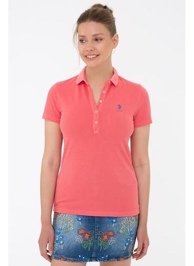 U.S. Polo Assn. G082Sz011.000.1203813.Vr039 T-Shirt Kırmızı